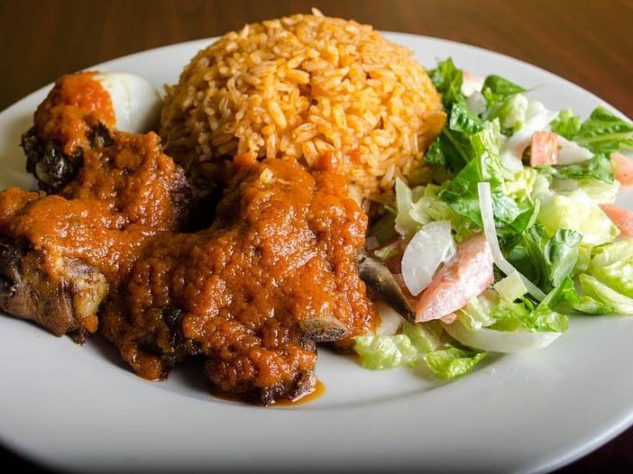 Jollof Rice Nigerian Cuisine